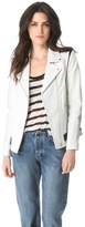 Veda Convertible Leather Jacket