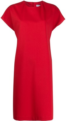 Harris Wharf London Round-Neck Shift Dress