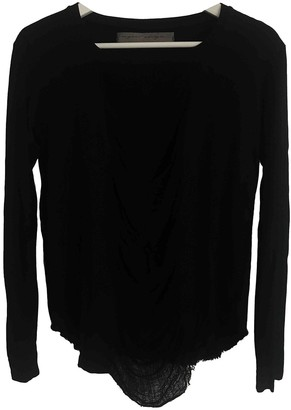 Raquel Allegra Black Cotton Top for Women