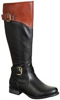 Refresh Black & Cognac Merlot Boot