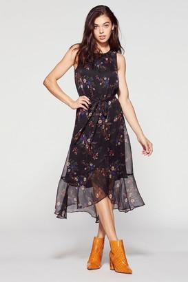 Vince Camuto Bouquet-print Maxi Dress