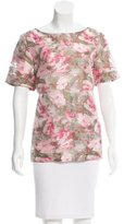 Matthew Williamson Rosette Jacquard Top w/ Tags