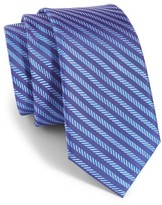 Michael Kors Boy's Herringbone Stripe Silk Tie