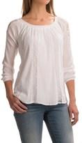 Studio West Gauze Boho Shirt - Long Sleeve (For Women)