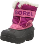 Sorel Toddler Snow Commander (Inf/Tod) - Tropic Pink/Deep Blush - 5 Infant