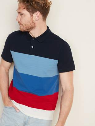 Old Navy Moisture-Wicking Color-Blocked Pro Polo for Men