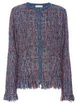 Etro Metallic tweed jacket