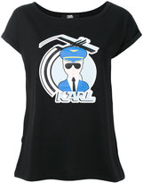 Karl Lagerfeld D2 T-shirt - women - Cotton/Lyocell - S