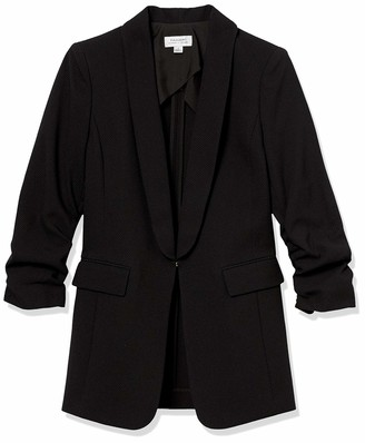 Tahari ASL Women's Scrunched Sleeve Jacket