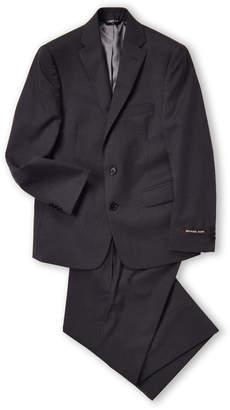 Michael Kors Boys 8-20) Two-Piece Charcoal Husky Wool Suit