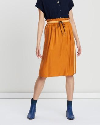 Scotch & Soda Cupro Skirt