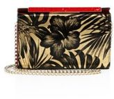 Christian Louboutin Vanite Patterned Leather Clutch