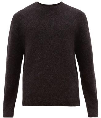 Acne Studios Nosti Crew-neck Sweater - Mens - Dark Grey