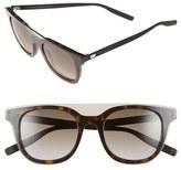 Christian Dior 'Black Tie' 50mm Sunglasses