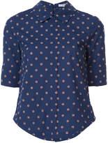Derek Lam 10 Crosby Tie-Back Shirt With Button Detail
