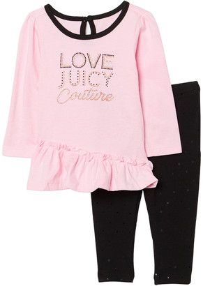Juicy Couture Baby Girls Set
