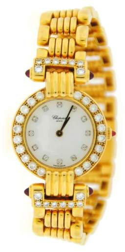 Chopard Gstaad 18K Yellow Gold and Diamond Watch