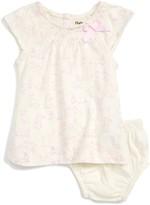 Hatley Infant Girl's Cap Sleeve Bunny Print Dress
