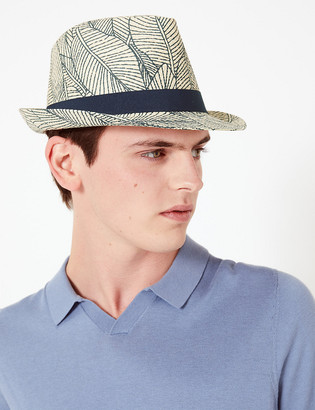 Marks and Spencer Tropical Print Trilby