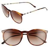 Burberry Women's 54Mm Sunglasses - Brown/ Havana
