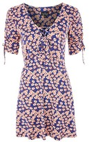 Topshop PETITE Frill Tea Dress