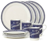 Kate Spade All in Good Taste Order's Up 12-Piece Dinnerware Set