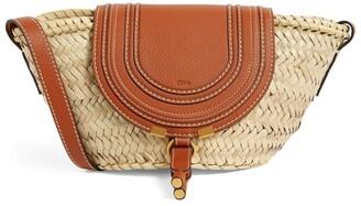 Chloé Small Marcie Basket Cross-Body Bag