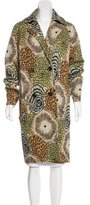 Missoni Intarsia Wool Coat