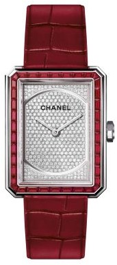 Chanel BOYFRIEND RUBIES Watch