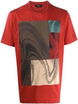 Ermenegildo Zegna short sleeve abstract print T-shirt