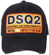 DSQUARED2 Dsq2 Patch Canvas Baseball Hat