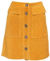 MiH Jeans Damas suede skirt