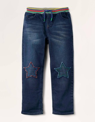 Star Knee Patch Trousers