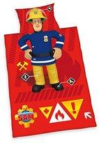 Fireman Sam Junior Bed Linen, Cotton, Multi-Colour, 135 x 100 x 0.2 cm