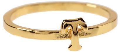 Gorjana Alphabet Stackable Ring