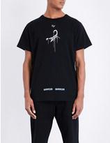 Off-White Scorpion cotton-jersey t-shirt