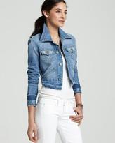 True Religion Jacket - Jada Love Denim Jacket in Arlington Wash
