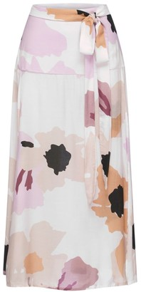 Peony Swimwear Soiree Slit Midi Skirt