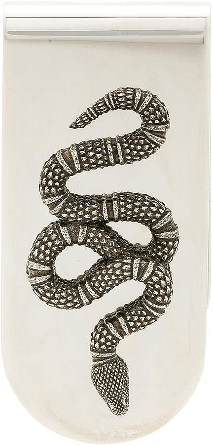 Gucci Snake Motif Money Clip