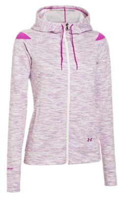 Under Armour Ladies' Charged Cotton Storm Marble Full-Zip Hoodie