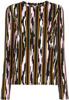Proenza Schouler long sleeve printed top
