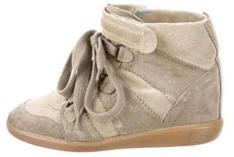 Isabel Marant Étoile Bobby Wedge Sneakers