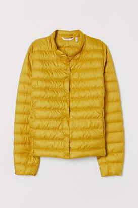 H&M Lightweight Down Jacket - Yellow