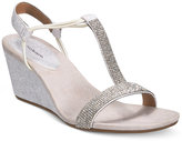Style&Co. Style & Co Mulan 2 Embellished Evening Wedge Sandals, Only at Macy's Women's Shoes