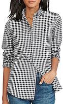 Polo Ralph Lauren Slim Fit Checked Poplin Shirt