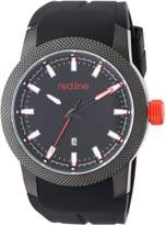 Redline Red Line Men's RL-10016-BB-01 Gauge Analog Display Japanese Quartz Watch