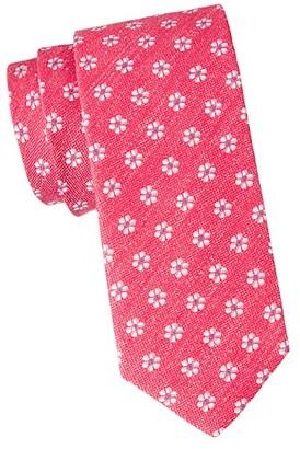 Eton Floral Silk-Linen Tie