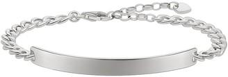 Thomas Sabo Women Silver Hand Chain Bracelet - LBA0106-001-12-L19v