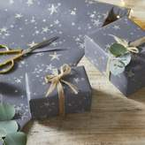 The White Company Glitter Star Wrapping Paper - 6m