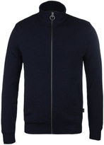 Barbour Ardeley Navy Zip Through Sweater